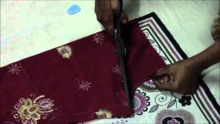 Repeat youtube video Punjabi Suit Tutorial   Salwaar Cutting