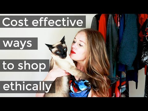 How to shop for clothes for women over 40  - cost effective ways to buy ethical, sustainable fashion
