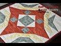 Patchwork Half Rectangle a Half Square - Půlené čtverce a obdélníky