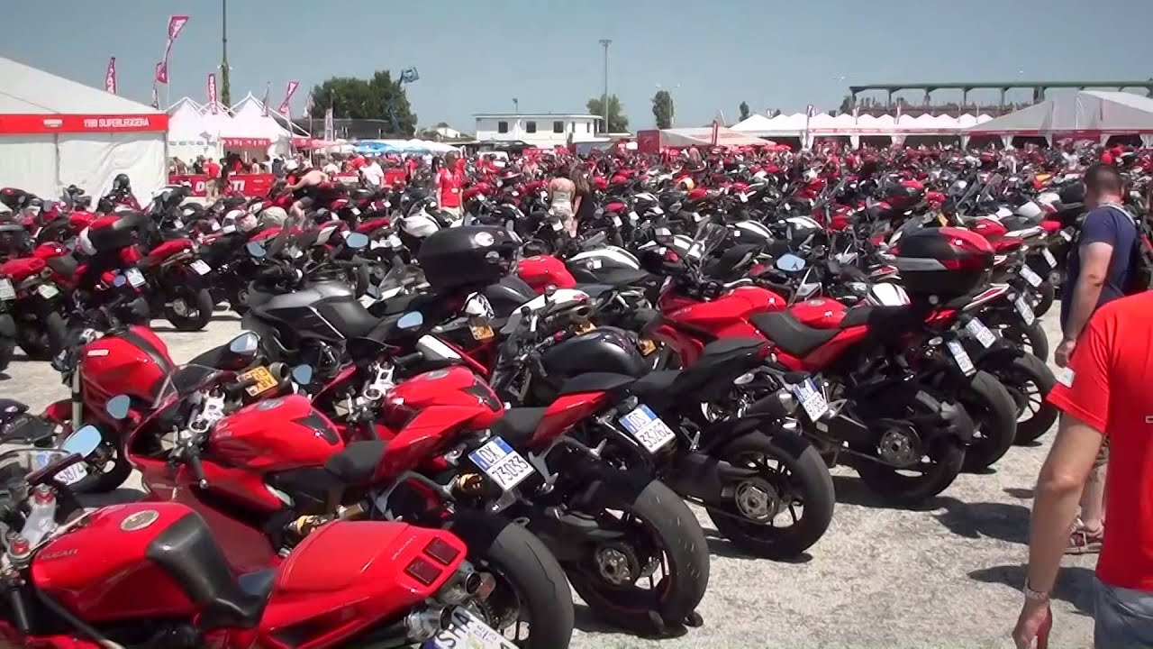 When Is World Ducati Week