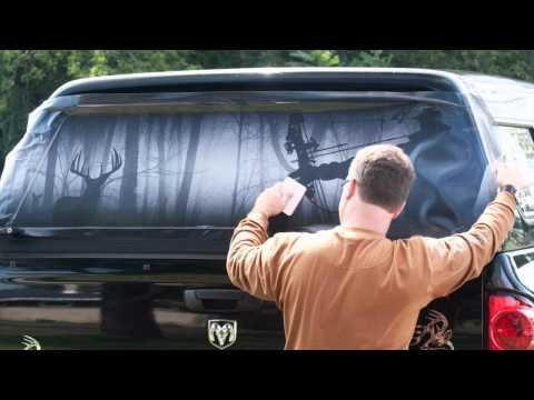 Legendary Whitetails Window Tint Installation