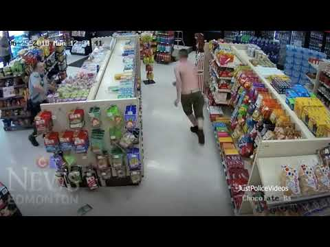 Suspect Fleeing Police Falls Through Ceiling
