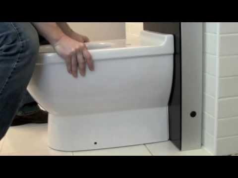 geberit monolith wt voor een wasbak montage hornbad