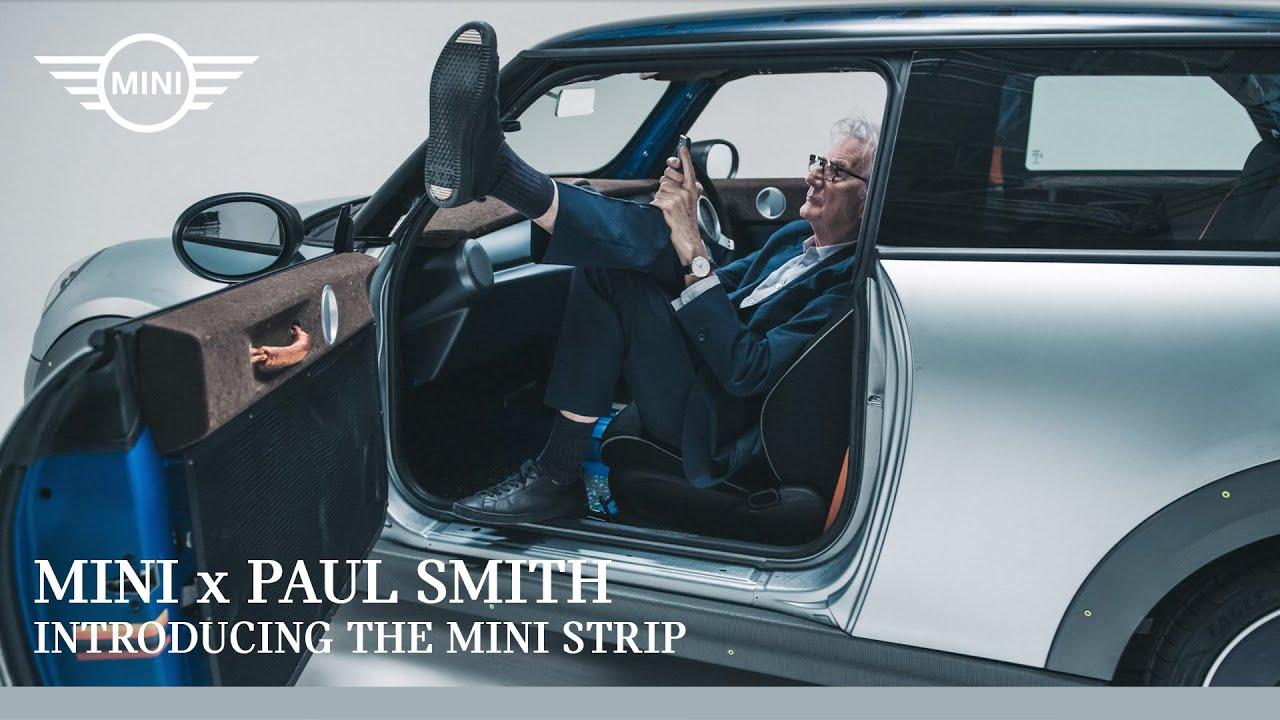 Paul Smith x MINI: Introducing the MINI Strip