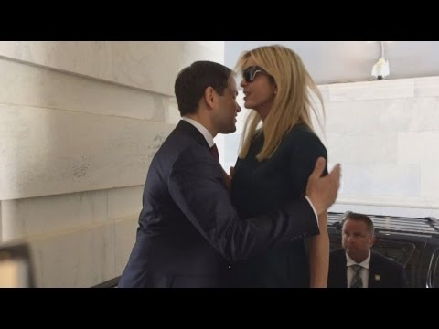 Marco Rubio and Ivanka Trump's Awkward Hug Is Internet's Latest Viral Joke
