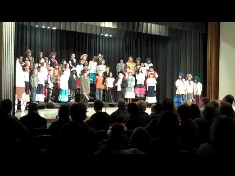 Go West! Golden Lake Elementary 4th Grade Play