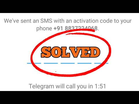 How to Fix Telegram Verification Code Not Received Problem Solved