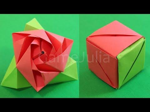 Как сделать сердце оригами