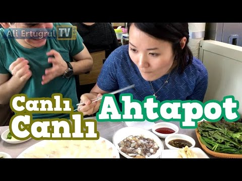 Eating Live Octopus (Horrible!!)