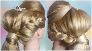Красивая и быстрая прическа Quick Hairstyle