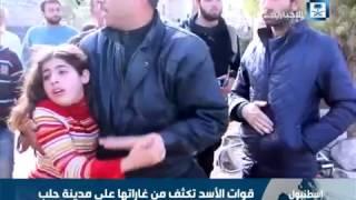 قوات الأسد تكثف من غاراتها على مدينة حلب