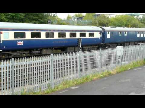 Southampton-Glasgow Cruiser Saver Boat Train 1Z60 18/09/2011
