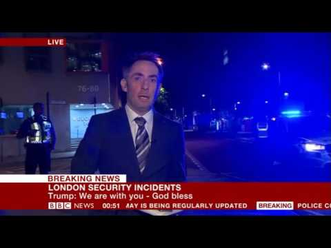 BBC Breaking News - 03/06/17 London attack part 3 (00.40am to 04.30am)