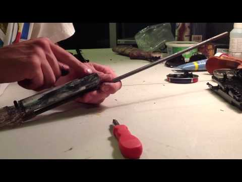 Grizzly 840 air rifle disassembly