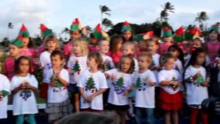 Emma Jingle Bells Hawaiian Style