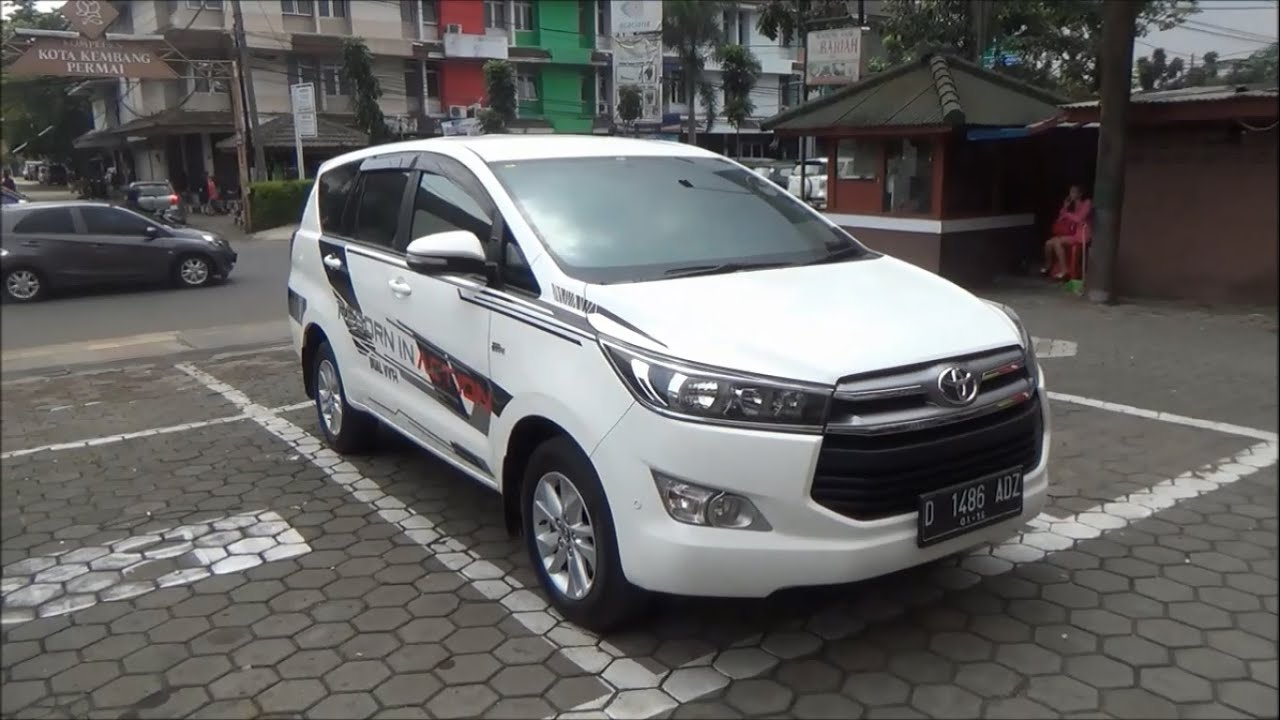 All New Toyota Kijang Innova 2019 Spesifikasi 2018 Review 2 V Automatic Tahun