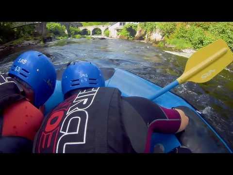White Water Rafting - Llangollen June 3rd 2017