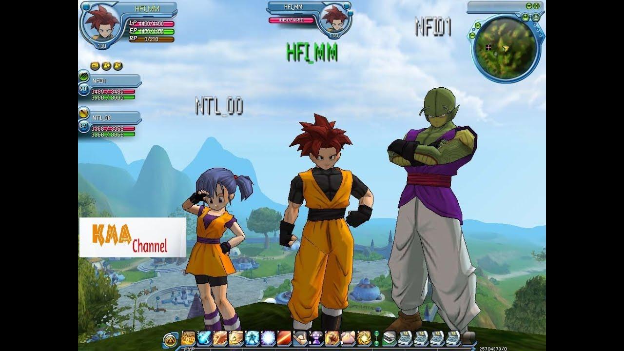 games Dragon ball online z