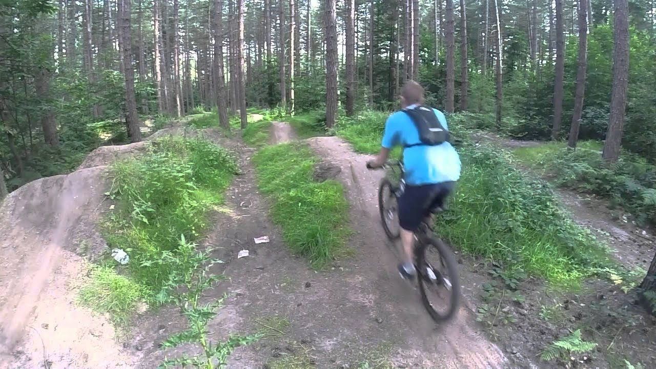 Sherwood Pines Kitchener Trail Red Route Trail Riding Plus Dirt