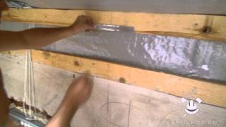 Выравнивание стен гипсокартоном ч.2