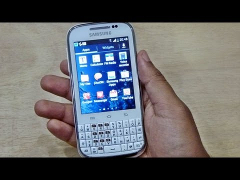 Samsung GALAXY CHAT B5330 UNBOXING & HANDS ON REVIEW HD: Gadgets Portal EXCLUSIVE