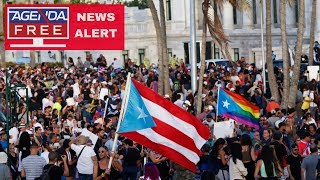 Puerto Rico Protest Against Governor - LIVE NEWS COVERAGE