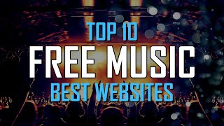 Top 10 Best FREE WEBSITES to Download Music Online! 2020