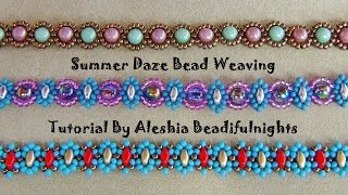 Summer Daze Bead Weaving Tutorial