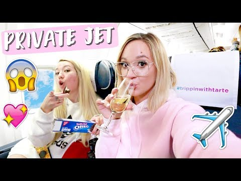 Taking a PRIVATE Plane to BORA BORA!!