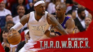 Throwback: Lebron James vs Kobe Bryant Full Duel Highlights 2013.02.10 Heat vs Lakers - SICK!