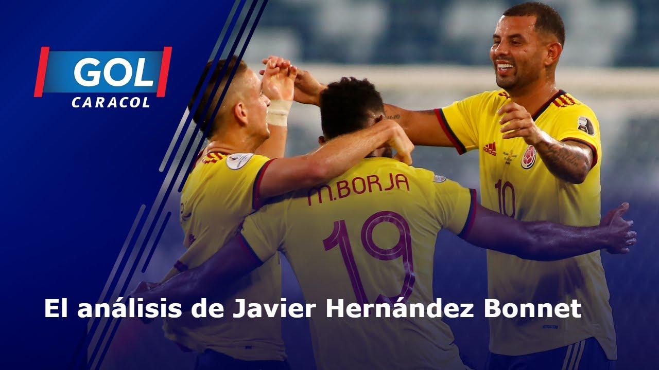 Javier Hernández Bonnet y su opinión de Colombia vs. Venezuela