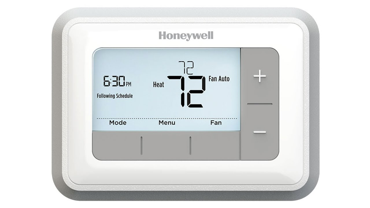 Honeywell Conventional 7Day Programmable Thermostat (RTH7560E)  YouTube