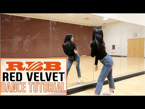 Red Velvet 레드벨벳 'RBB (Really Bad Boy)' Lisa Rhee Dance Tutorial