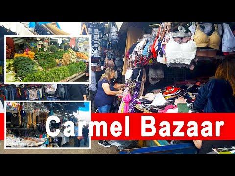 Bazaar Walk, Carmel Market - Tel Aviv, Israel