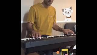 Playing Alesis harmony 61 keyboard