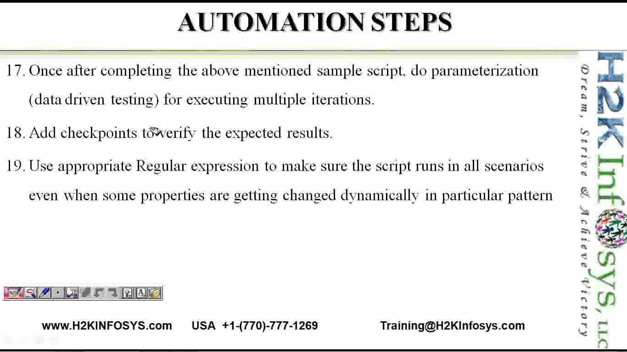 Qtp process for automation testing qtp tutorial qtp framework quick qtp process for automation testing qtp tutorial qtp framework quick test pro quicktestpro baditri Gallery