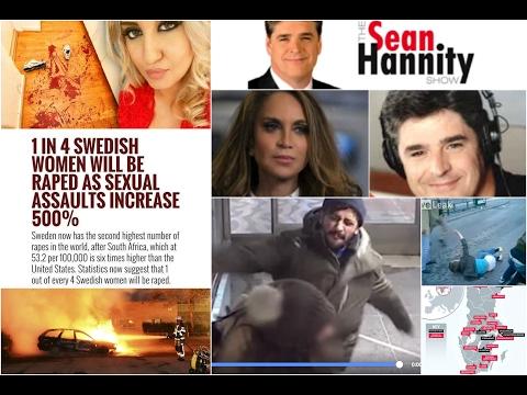 LISTEN Pamela Geller on Sean Hannity Radio on jihad in Sweden and enemedia war on Trump truth