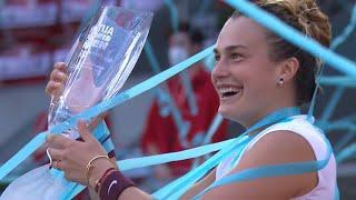 【A.バーティ×A.サバレンカ|ハイライト】サバレンカが世界1位のバーティを破りキャリア10勝目|2021マドリード・オープン決勝|WTAツアー|女子シングルス