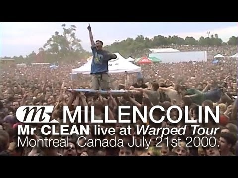Millencolin - Mr Clean live at Warped Tour 2000 Montreal.