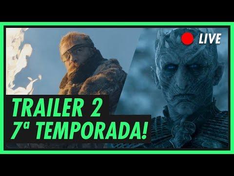 GAME OF THRONES | Trailer 2 da Sétima Temporada Comentado