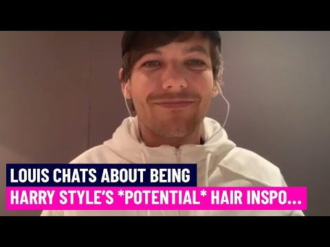 Did Harry Styles steal Louis Tomlinson's hairstyle? | Hits Radio thumbnail