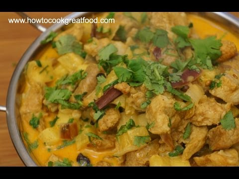 Pork Pineapple Coconut Milk Curry How To Cook Great Food Youtube