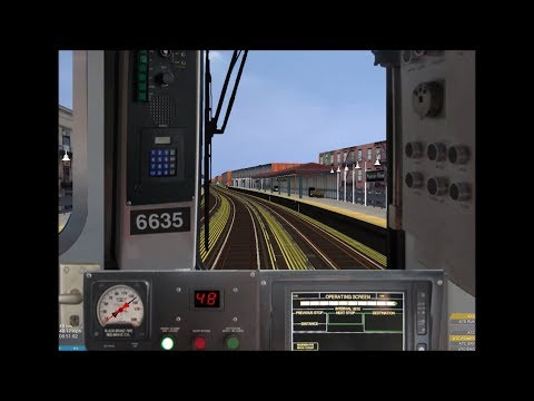 OpenBVE HD EXCLUSIVE: NYC Subway 5 Train Full Route R142 Cab Ride Preview (Dyre Av to Flatbush Av)