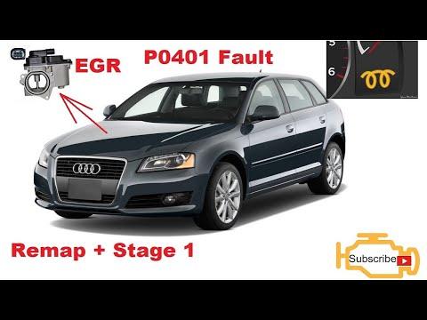 ✅EGR | Audi A3 2.0D | Remaps + Stage 1 | Kļūda P0401 EGR Low Flow Rate