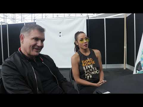NYCC 2018 Interview | TELL ME A STORY - Dania Ramirez & EP Kevin Williamsom