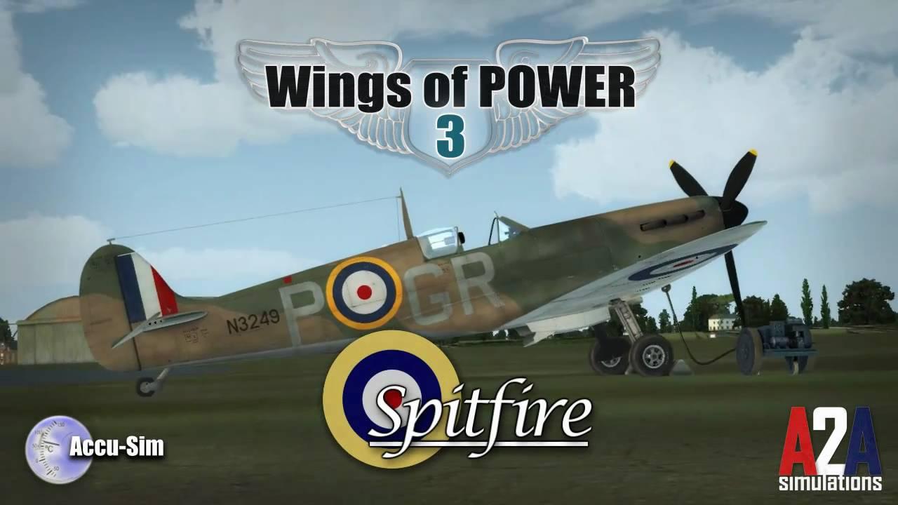 Accu-sim Spitfire MkI-II (P3Dv4) | A2A Simulations