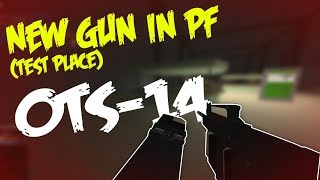 NEW GUN IN PF [TEST PLACE] - OTs-14 GROZA GAMEPLAY | Phantom Forces (Test Place) | ROBLOX