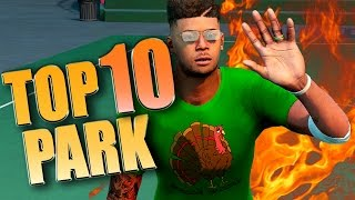 NBA 2K16 TOP 10 PARK PLAYS - Ankle Breakers, Dunks, Blocks & More