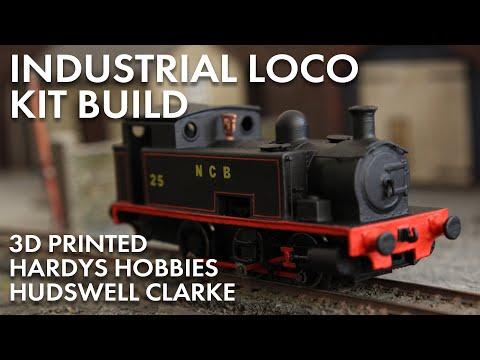 Hudswell Clarke Industrial Loco Build - Model Railway Mania