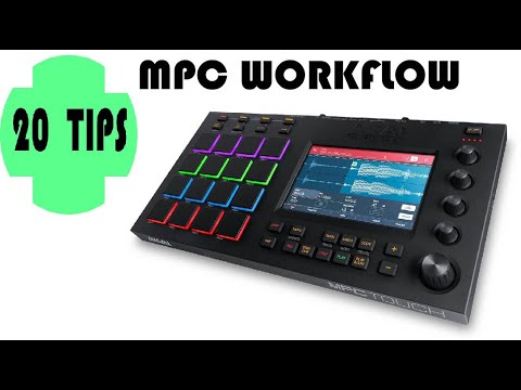 20 tips - small topics and ideas on Mpc Workflow - beginners and advanced